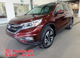 Used 2016 Honda CR-V AWD Touring Navi Cuir Toit Camera Mags for sale in St-Jean-Sur-Richelieu, QC