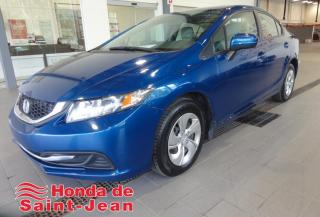 Used 2015 Honda Civic LX 4 portes, Automatique A/C Camera Sieg for sale in St-Jean-Sur-Richelieu, QC