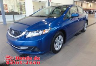 Used 2015 Honda Civic LX 4 portes, Automatique A/C Sieges Chau for sale in St-Jean-Sur-Richelieu, QC