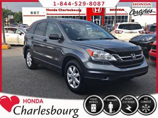 Used 2010 Honda CR-V LX 4WD *AUCUN ACCIDENT* for sale in Charlesbourg, QC