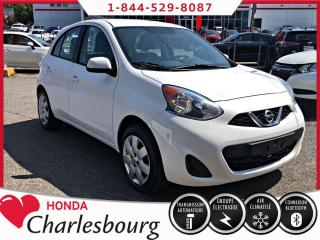 Used 2015 Nissan Micra SV *AUTOMATIQUE*CLIMATISEUR* for sale in Charlesbourg, QC