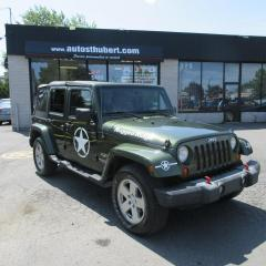 Used 2007 Jeep Wrangler Wrangler Unlimited Sahara 4x4 for sale in St-Hubert, QC