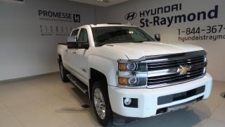 Used 2015 Chevrolet Silverado 2500 DURAMAX + HIGH COUNTRY + 6.6L for sale in St-Raymond, QC