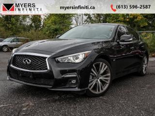 Used 2018 Infiniti Q50 Driver Assistance  - One owner for sale in Ottawa, ON