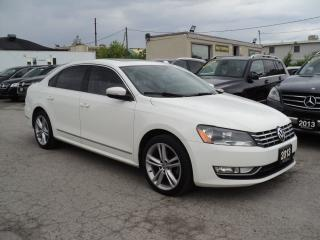 Used 2013 Volkswagen Passat HIGHLINE for sale in Oakville, ON