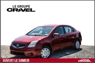 Used 2010 Nissan Sentra 2.0 S - Air clim - Groupe électrique ! for sale in Ile-des-Soeurs, QC