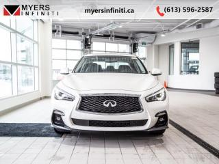 Used 2019 Infiniti Q50 for sale in Ottawa, ON