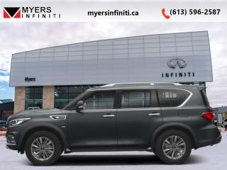 New 2019 Infiniti QX80 Limited 7-Passenger  - Navigation for sale in Ottawa, ON