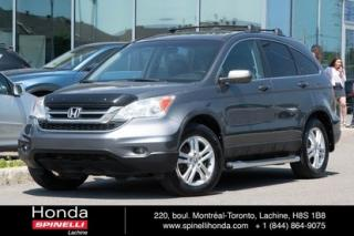 Used 2010 Honda CR-V EX-L CUIR TOIT MAGS CUIR TOIT MAGS CRUISE for sale in Lachine, QC