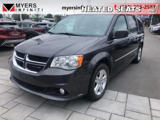 Used 2016 Dodge Grand Caravan Crew - Rear DVD!!  - Leather Seats for sale in Ottawa, ON