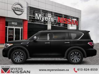 Used 2019 Nissan Armada SL  - Sunroof -  Leather Seats - $419 B/W for sale in Orleans, ON