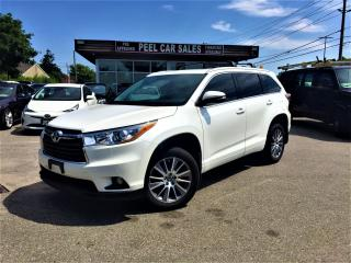 Used 2016 Toyota Highlander XLE|NAVI|LEATHER|EXTRACLEAN for sale in Mississauga, ON