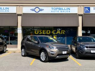 Used 2015 Land Rover Discovery Sport HSE LUXURY, NAVI, Accident Free for sale in Vaughan, ON