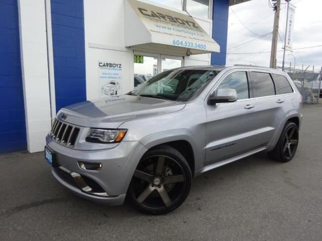 2015 Jeep Grand Cherokee Overland 4WD, Nav, Pano Roof, Tech Pkg, 22's