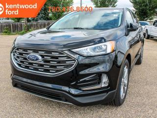 New 2019 Ford Edge TITAN 300A AWD 2.0L I4 Ecoboost, Power Heated Leather Seats, Auto Start/Stop, Lane Keeping System, Pre-Collision Assist, Remote Vehicle Start, Reverse Camera and Sensing System for sale in Edmonton, AB