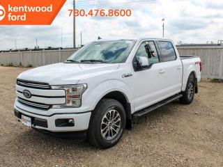 New 2019 Ford F-150 LARIAT 502A 4X4 SuperCrew 2.7L Ecoboost, Auto Start/Stop, Pre-Collision Assist, Remote Keyless Entry/Keyad, Remote Vehicle Start, Reverse Camera System for sale in Edmonton, AB