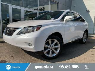 Used 2012 Lexus RX 350 ULTRA PREMIUM DVD SUNROOF NAV BEAUTIFUL VEHICLE for sale in Edmonton, AB