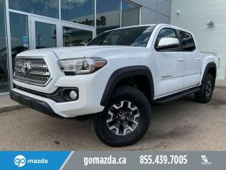 Used 2017 Toyota Tacoma TRD Off Road NAV BRAND NEW TIRES VERY NICE TRUCK for sale in Edmonton, AB