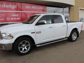 Used 2015 RAM 1500 Laramie 4x4 Crew Cab for sale in Edmonton, AB