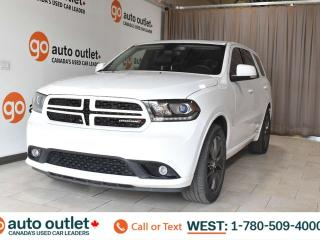 Used 2018 Dodge Durango Gt, 3.6L V6, Awd, Third row 7 passenger seating, Leather heated seats front & rear, Heated steering wheel, Backup camera, Sunroof for sale in Edmonton, AB