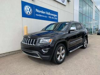Used 2014 Jeep Grand Cherokee LIMITED 3.6L 4WD - FULLY LOADED for sale in Edmonton, AB