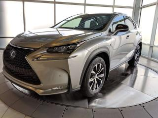 Used 2016 Lexus NX 200t F SPORT SERIES 2 for sale in Edmonton, AB