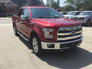 Used 2016 Ford F-150 Lariat | Supercrew | 4X4 | Heated & Cooled Seats for sale in Harriston, ON