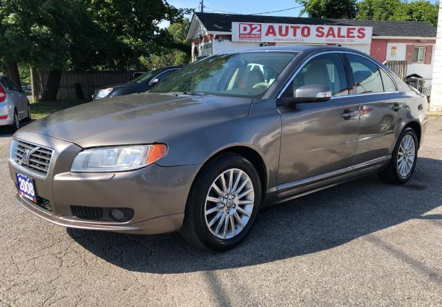 2008 Volvo S80 Comes Certified/Automatic/Leather/Sunroof