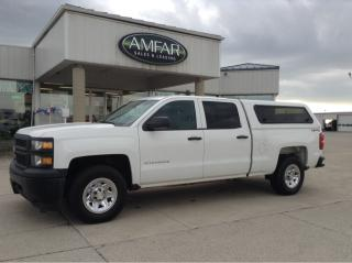 Used 2015 Chevrolet Silverado 1500 4x4 / 5.3L / CREW CAB / NO PAYMENTS FOR 6 MONTHS for sale in Tilbury, ON