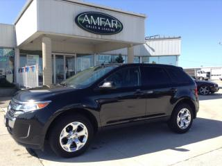Used 2013 Ford Edge SEL / LEATHER / NAV / ROOF/ NO PAYMENTS FOR 6 MONS for sale in Tilbury, ON