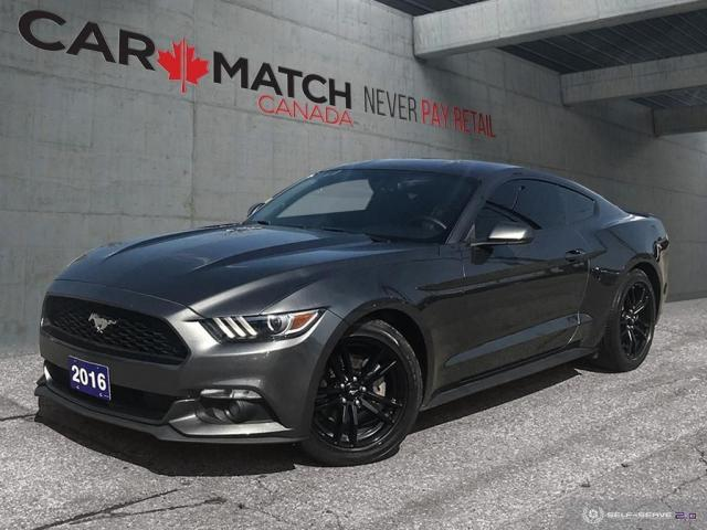 2016 Ford Mustang EcoBoost / LEATHER / NO ACCIDENTS