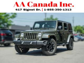 Used 2015 Jeep Wrangler SAHARA | NAVI | BLUETOOTH | for sale in Toronto, ON