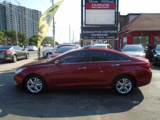 Used 2011 Hyundai Sonata LIMITED/ LEATHER / NEW BRAKES / LOADED / ONE OWNER for sale in Scarborough, ON