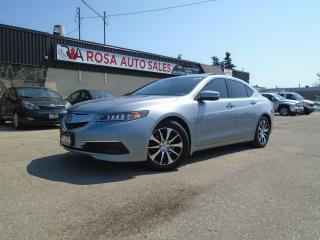 Used 2015 Acura TLX Tech navigation no accident B-TOOTH B-CAMERA for sale in Oakville, ON