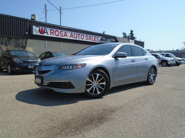 2015 Acura TLX Tech navigation no accident B-TOOTH B-CAMERA