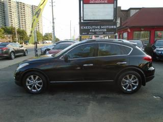 Used 2008 Infiniti EX35 LOADED/ NAV /REV CAM / NEW BRAKES / MINT / AWD / for sale in Scarborough, ON