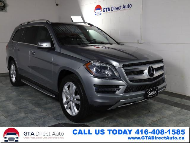 2014 Mercedes-Benz GL-Class GL350 BlueTEC 4Matic 7Pass Panoroof Nav Certified