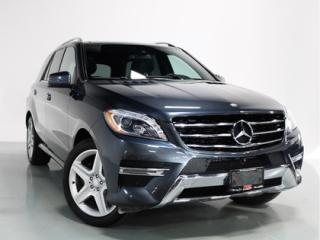Used 2014 Mercedes-Benz ML-Class ML350 BLUETEC   AMG   PANO   DRIVE ASSIST for sale in Vaughan, ON