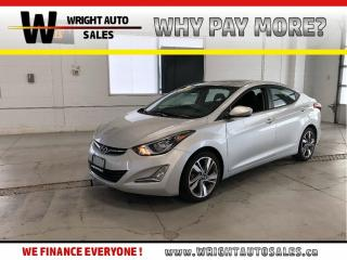 Used 2015 Hyundai Elantra GLS|SUNROOF|BACKUP CAMERA|101,286 KMs for sale in Cambridge, ON
