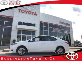 Used 2017 Toyota Corolla LE EXTRA CLEAN for sale in Burlington, ON