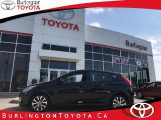Used 2017 Hyundai Accent SE sunroof, alloys for sale in Burlington, ON