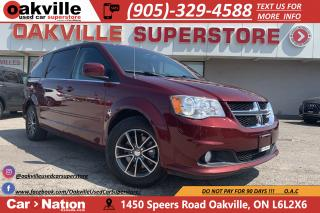 Used 2017 Dodge Grand Caravan SXT PREMIUM PLUS | NAVI | B/U CAM | DVD | PWR DOOR for sale in Oakville, ON