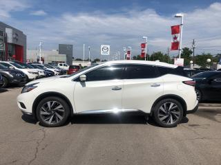 Used 2017 Nissan Murano 2017 Nissan Murano - AWD 4dr Platinum for sale in St. Catharines, ON