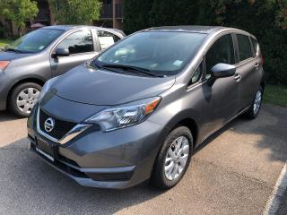 New 2019 Nissan Versa Note Hatchback 1.6 SV CVT for sale in St. Catharines, ON