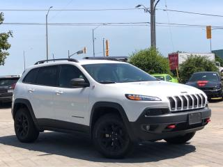 Used 2016 Jeep Cherokee Trailhawk**4X4**Leather**TOW Package for sale in Mississauga, ON