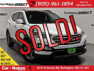 Used 2016 Hyundai Santa Fe Sport 2.4 Luxury| AWD| LEATHER| PANO ROOF| LOCAL TRADE| for sale in Burlington, ON