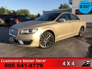 Used 2017 Lincoln MKZ Select  NAV ROOF CAM P/TRUNK P/SEATS for sale in St. Catharines, ON