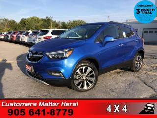 Used 2017 Buick Encore Premium  AWD LEATH CAM 2X-P/SEAT MEM HS for sale in St. Catharines, ON