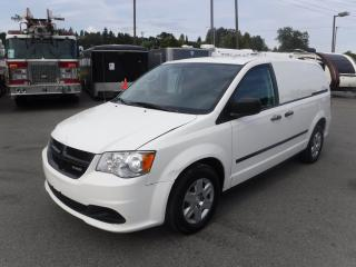 Used 2013 Dodge Caravan RAM Cargo Van with Rear Shelving for sale in Burnaby, BC