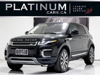 Used 2016 Land Rover Range Rover Evoque HSE,NAVI, PANO, CAM, Heated Lthr Range Rover Evoque for sale in Toronto, ON